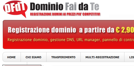 dominiofaidate registrazione domini low cost